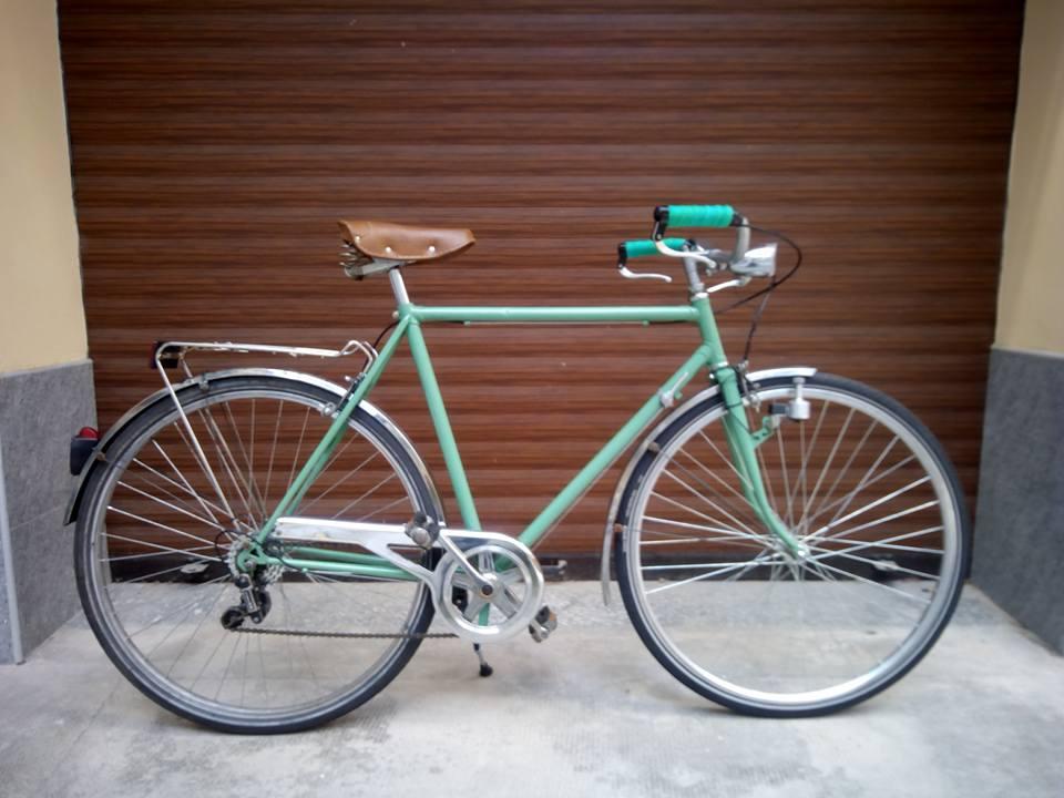 City Bike da passeggio riverniciata